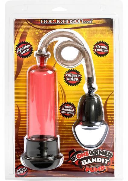 One Armed Bandit Penis Pump Red