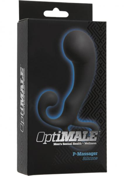 Optimale Silicone P-Massager Slate