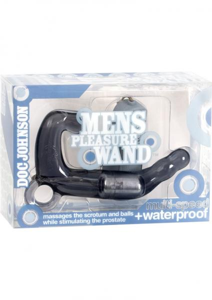 Men's Pleasure Wand Prostate Massager Charcoal