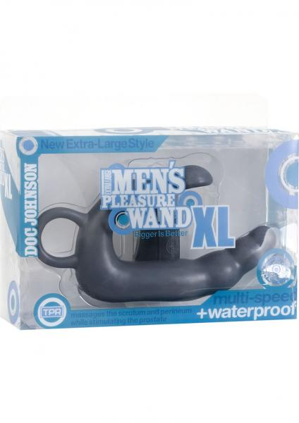 Men's Pleasure Wand XL Gray