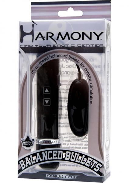 Harmony Balanced Bullets Yin Waterproof 2.4 Inch Black