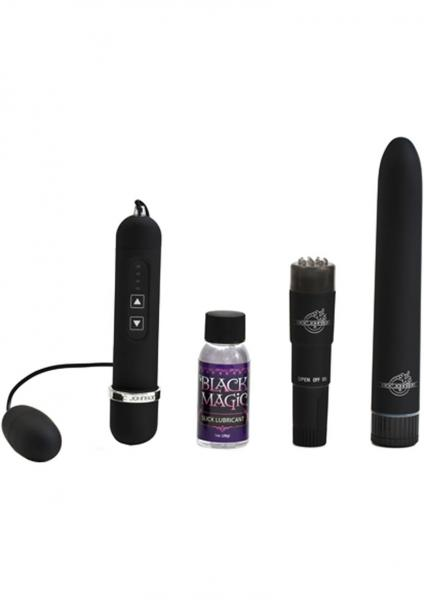 Black Magic Pleasure Kit Velvet Touch Waterproof