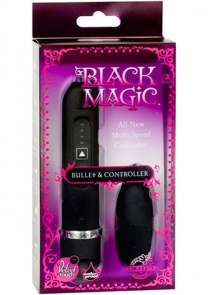 Black Magic Bullet Vibrator And Controller