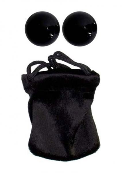 The Original Extra Large Ben Wa Balls Weighted Black