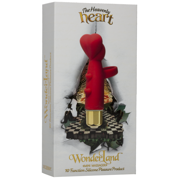 The Heavenly Heart Mini Massager Red