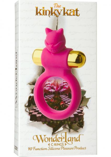 Wonderland The Kinky Kat Silicone C-Ring Pink