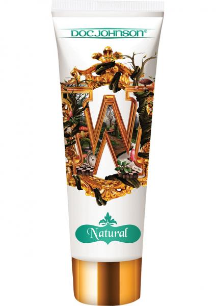 Wonderland Natural Water Base Personal Lube Shea Butter 4 Ounce