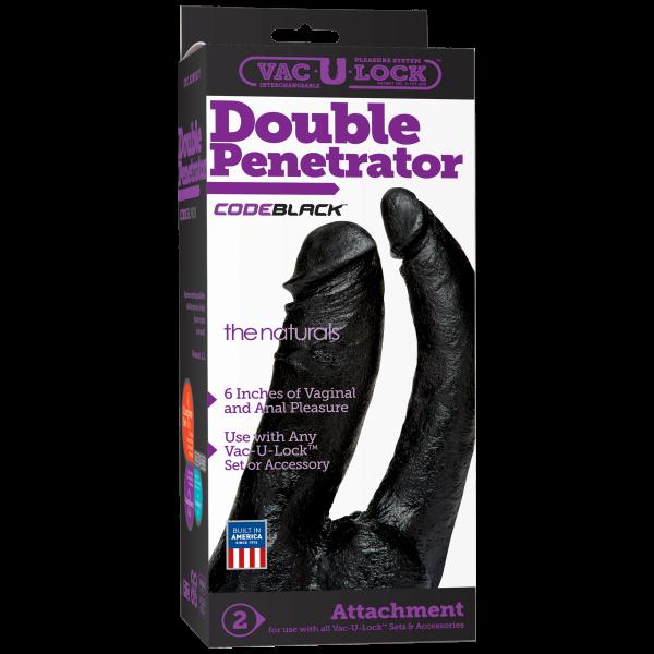 Code Black Double Penetrator