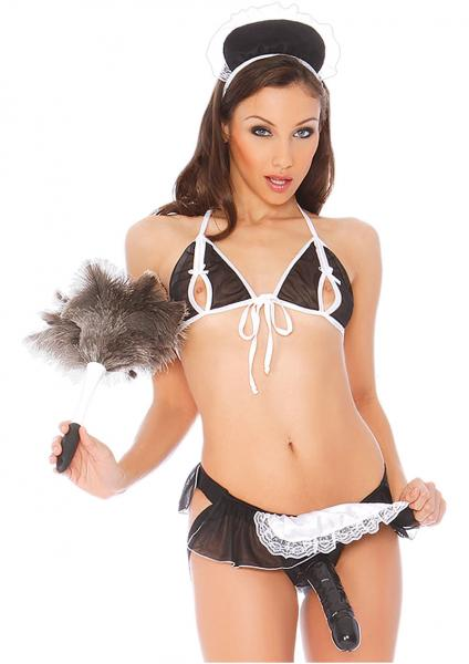 Vac U Lock Diva Dreams Harness System Flirty French Maid Regular