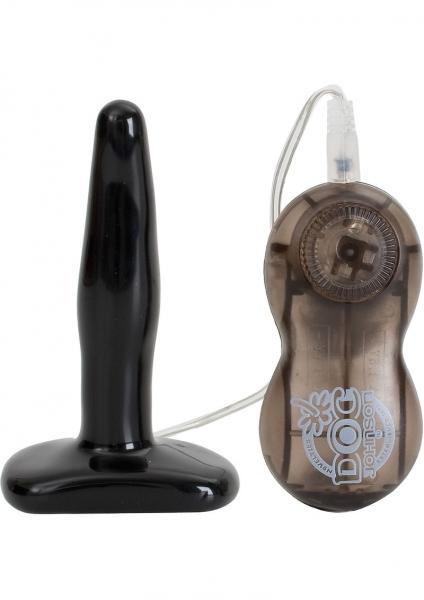 Rump Shakers Vibrating Butt Plug Small 4.5 Inch Black