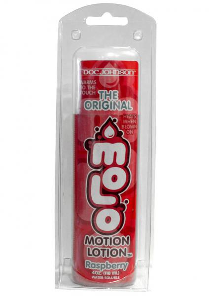Motion Lotion Flavored Water Based Raspberry 4 Ounce