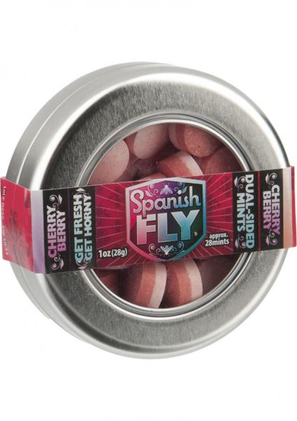Spanish Fly Mints Cherry Berry 36 Per Bag