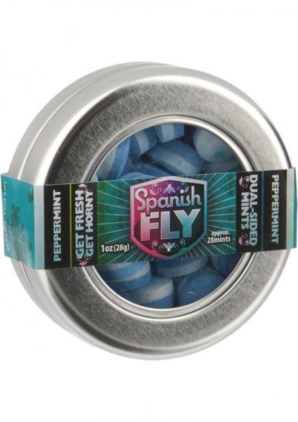 Spanish Fly Mints Peppermint 36 Per Bag