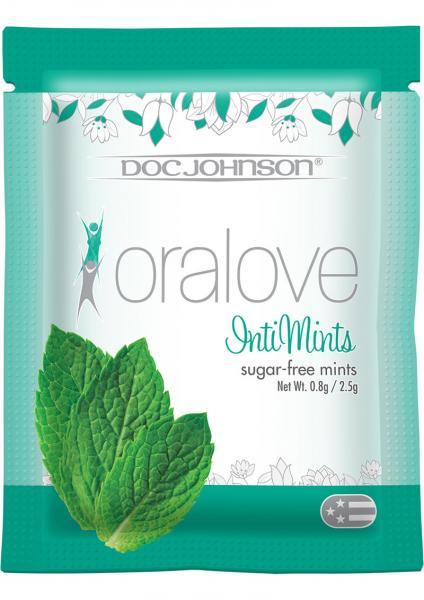 Oralove Intimints Sugar-Free 5 Packs Per Box