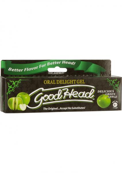 Goodhead Oral Delight Gel Green Apple 4oz Tube