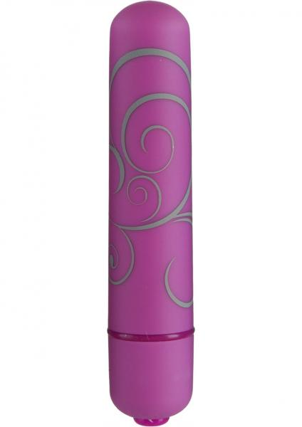 Mood Powerful 7 Function Small Bullet Vibrator Purple