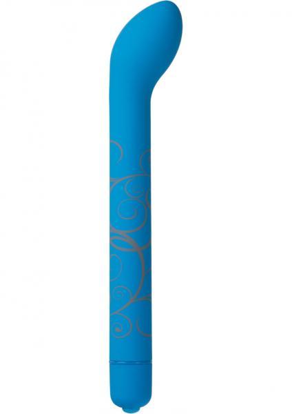 Mood G-Powerful G-Spot Massager Waterproof Blue 5.8 Inch