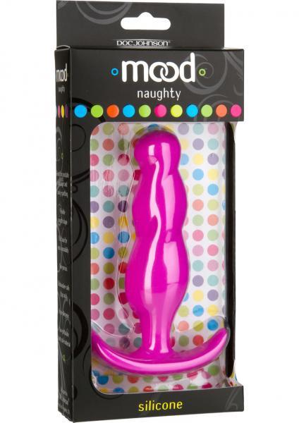 Mood Naughty 3 Anal Plug Silicone Pink 4.5 Inch