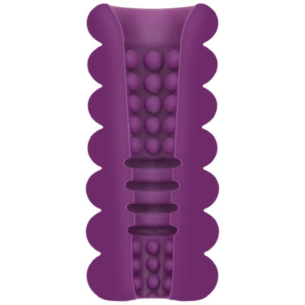 Mood Thrill Triple Texture Masturbator Purple