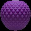 Powerball Thick Ribs Purple Masturbator