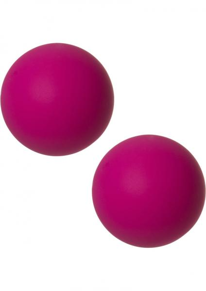 Mood Steamy Silicone Ben Wa Balls Pink