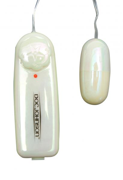 Vibrating Bullet With Controller - White