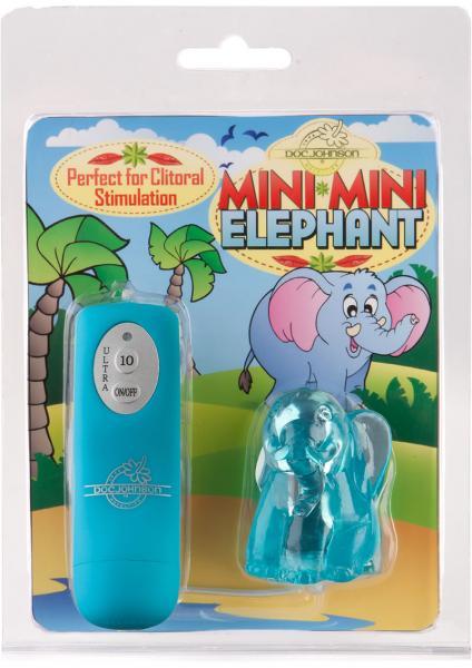 Mini Mini Elephant Egg Waterproof Blue
