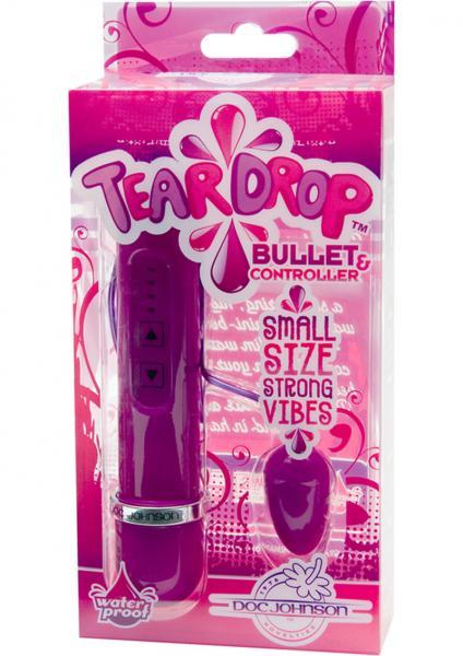 Teardrop Bullet And Controller Waterproof Violet