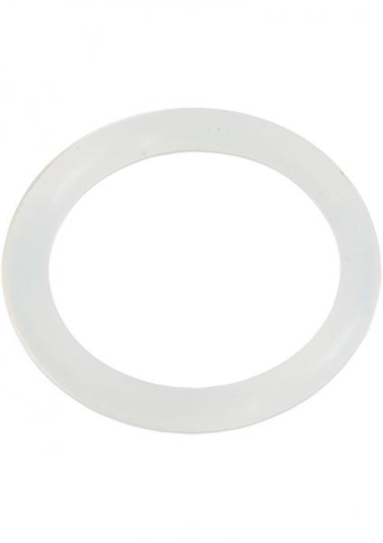 Silicone Love Ring Medium Clear