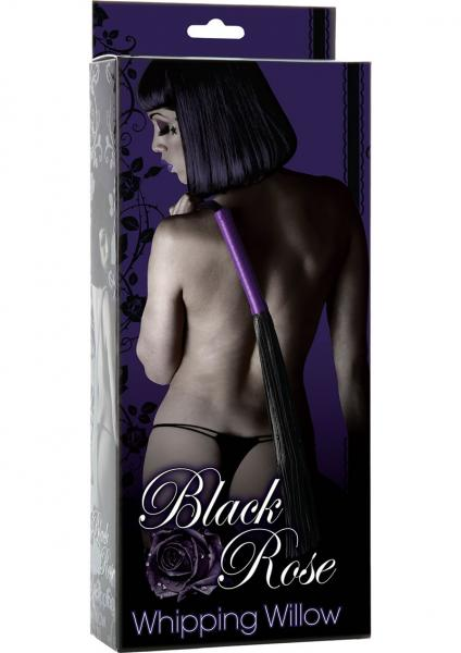 Black Rose Whipping Willow Whip Black And Purple