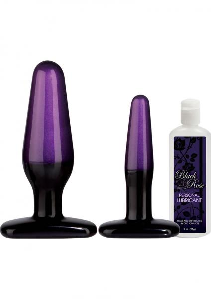 Black Rose Stems Of Seduction Anal Trainer Kit