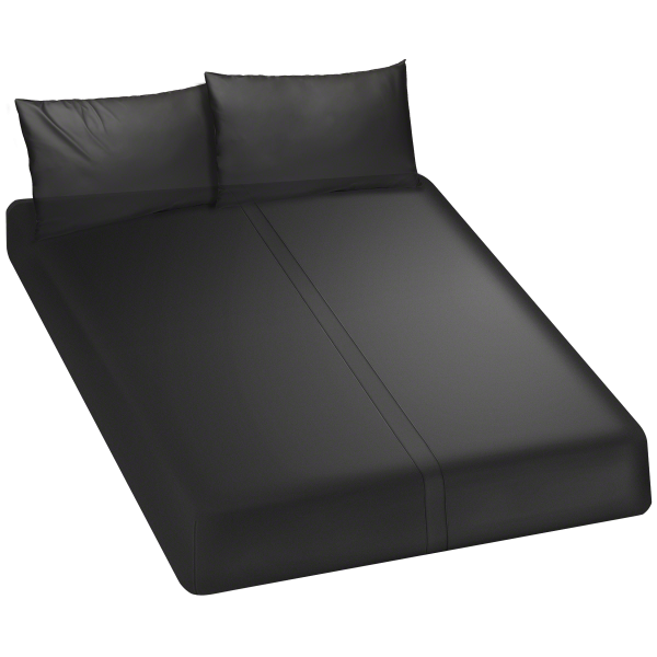 Kink Wet Works Fitted Play Sheet King Black