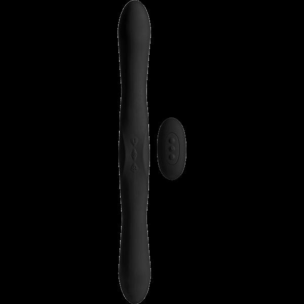 Kink Dual Flex Vibrator Wireless Remote Black