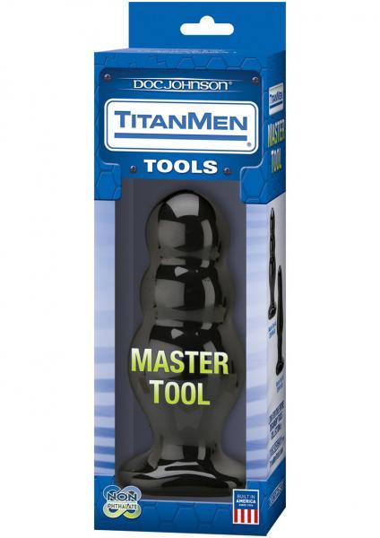 Titanmen Tools Master Tool Number 4 Black