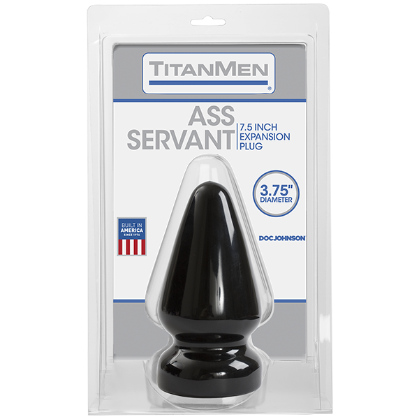 Ass Servant Plug  - Black