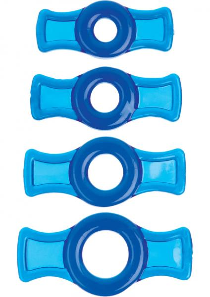 Titanmen Tools C Ring Set - Blue