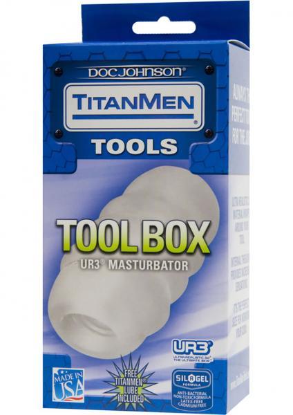 Titanmen Tools Tool Box Masturbator UR3 Clear