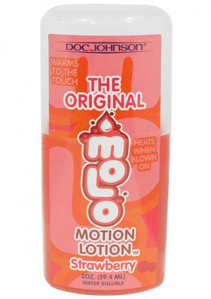Motion Lotion Water Based Strawberry 2 Ounce