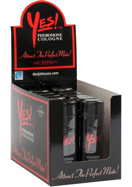Yes Pheromone Cologne For Men 1 Ounce 12 Per Display