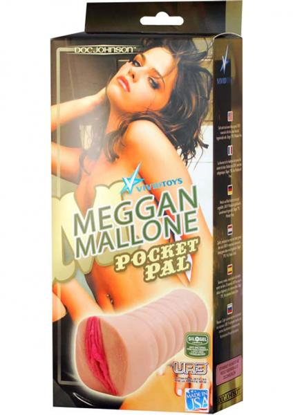 Meggan Mallone UR3 Pocket Pal Pussy Masturbator