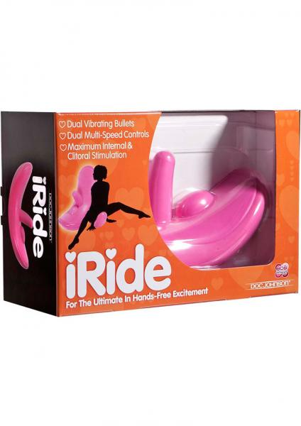 I Ride Dual Bullets Pleasure System Pink
