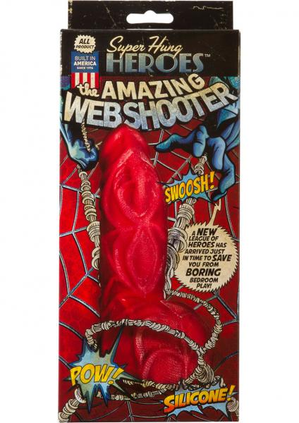 The Amazing Web Shooter Silicone Dong 5.25""