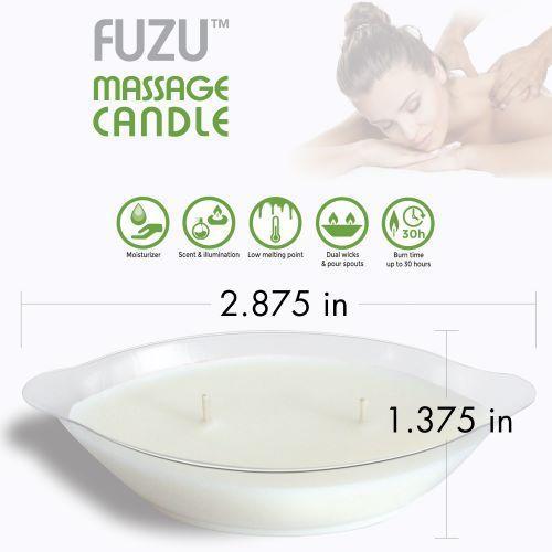 Fuzu Massage Candle Coconut Passion 4oz