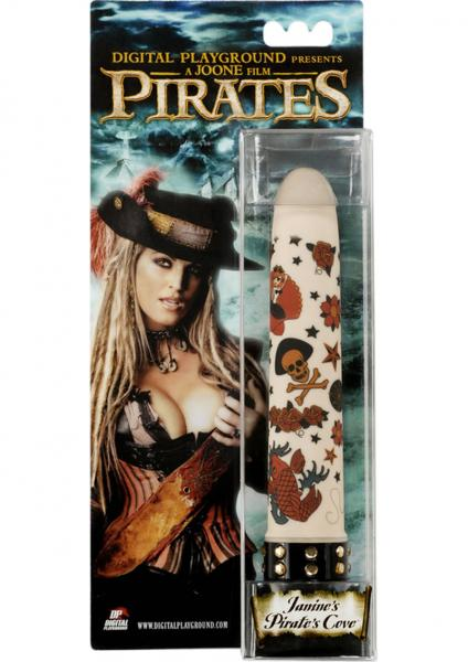 Pirates Janines Pirates Cove Vibrator White