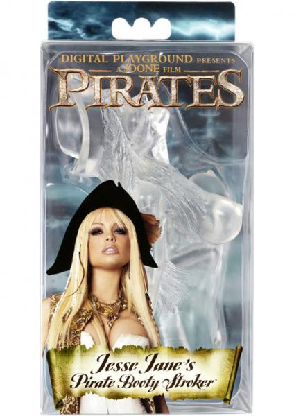 Pirates Jesse Janes Pirate Booty Stroker Clear