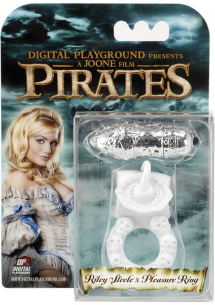 Pirates Riley Steeles Pleasure Ring White