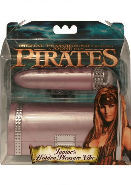 Pirates Janines Hidden Pleasure Vibe 5 Inch Pink