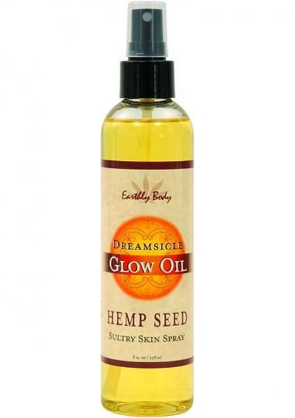 Glow Oil With Hemp Seed Dreamsicle 8 Ounce Spray