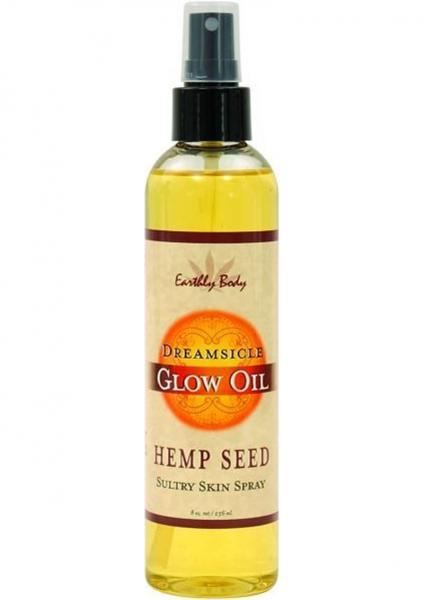 Glow Oil With Hemp Seed Dreamsicle 8 Ounce Spray