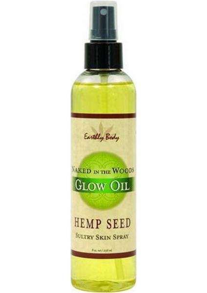 Glow Oil With Hemp Seed Naked In The Woods 8 Ounce Spray
